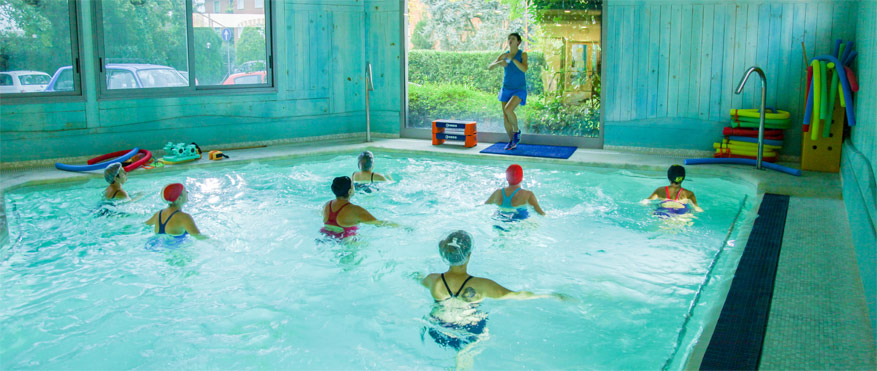 fitness a minerbio in piscina termale