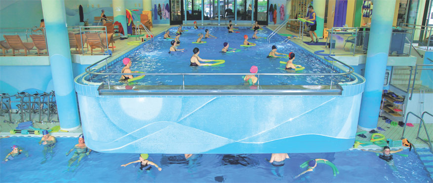 acquagym, corsi in piscina, antistress e training a Bologna Casalecchio
